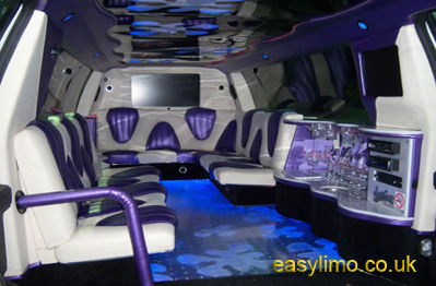 expedition pink limousine
