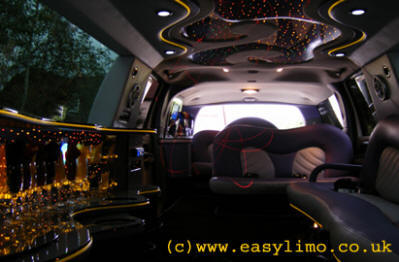 Excursion Limousine for hire in Kent, London, Essex, Surrey